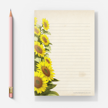 Load image into Gallery viewer, Sunflowers - Letter Pad