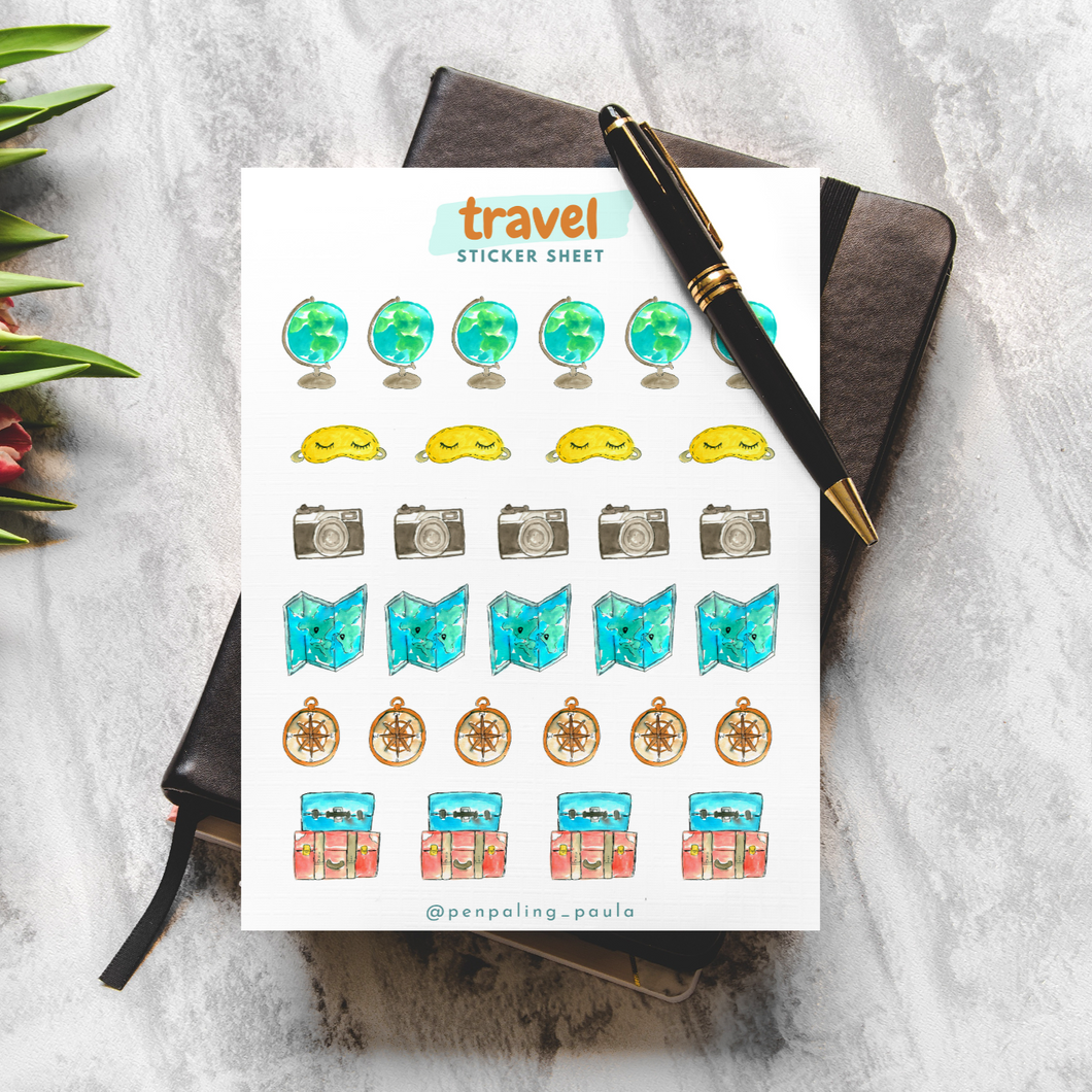Travel - Sticker Sheet