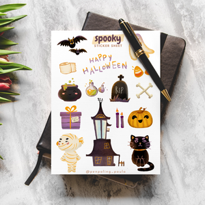 Spooky - Sticker Sheet