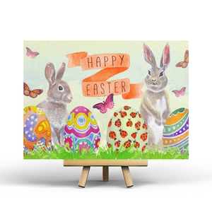 Happy Easter - Postcard