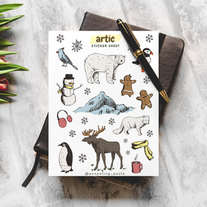 Artic - Sticker Sheet