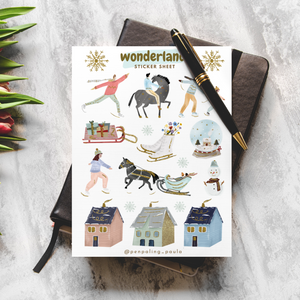 Wonderland - Sticker Sheet