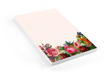 Load image into Gallery viewer, Vintage Flowers - Letter Pad