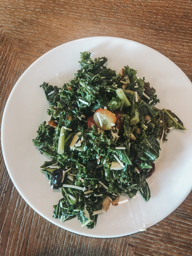 Kale Side Salad