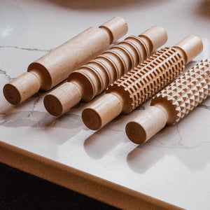 Hue Dough Wooden Rolling Pin