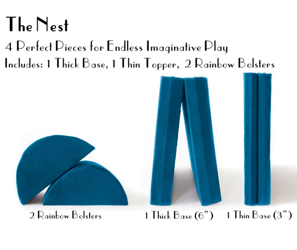 The Nest Playcouch Collection - Velvet