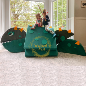 23 Piece Large Scale Dinosaur Felt Set