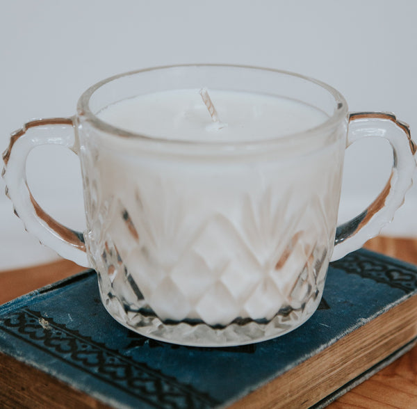 Stylized Nest Meant To Be Candle in November Rain Double Wick