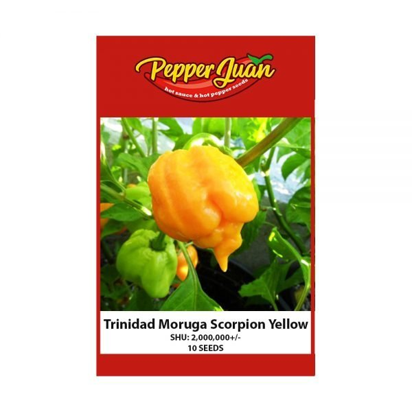 Trinidad Moruga Scorpion Yellow Pepper Seeds - Pepper Juan
