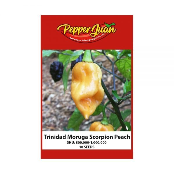 Trinidad Moruga Scorpion Peach Pepper Seeds - Pepper Juan