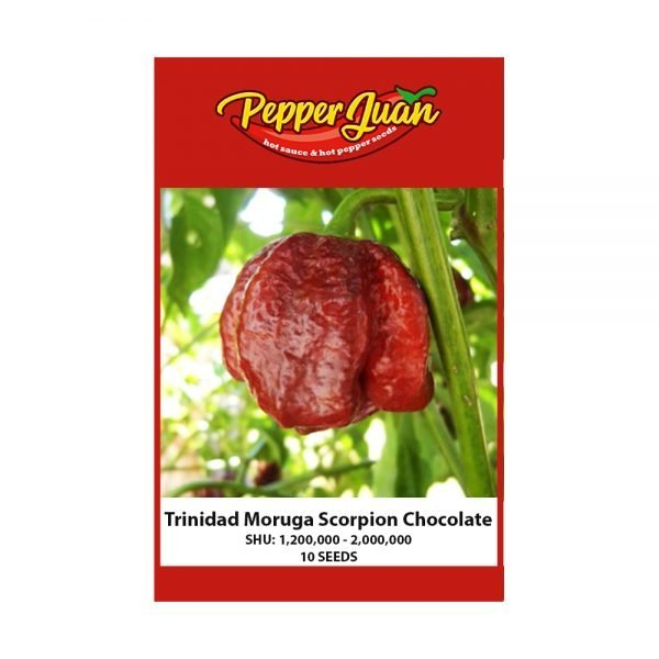 Trinidad Moruga Scorpion Chocolate Pepper Seeds - Pepper Juan