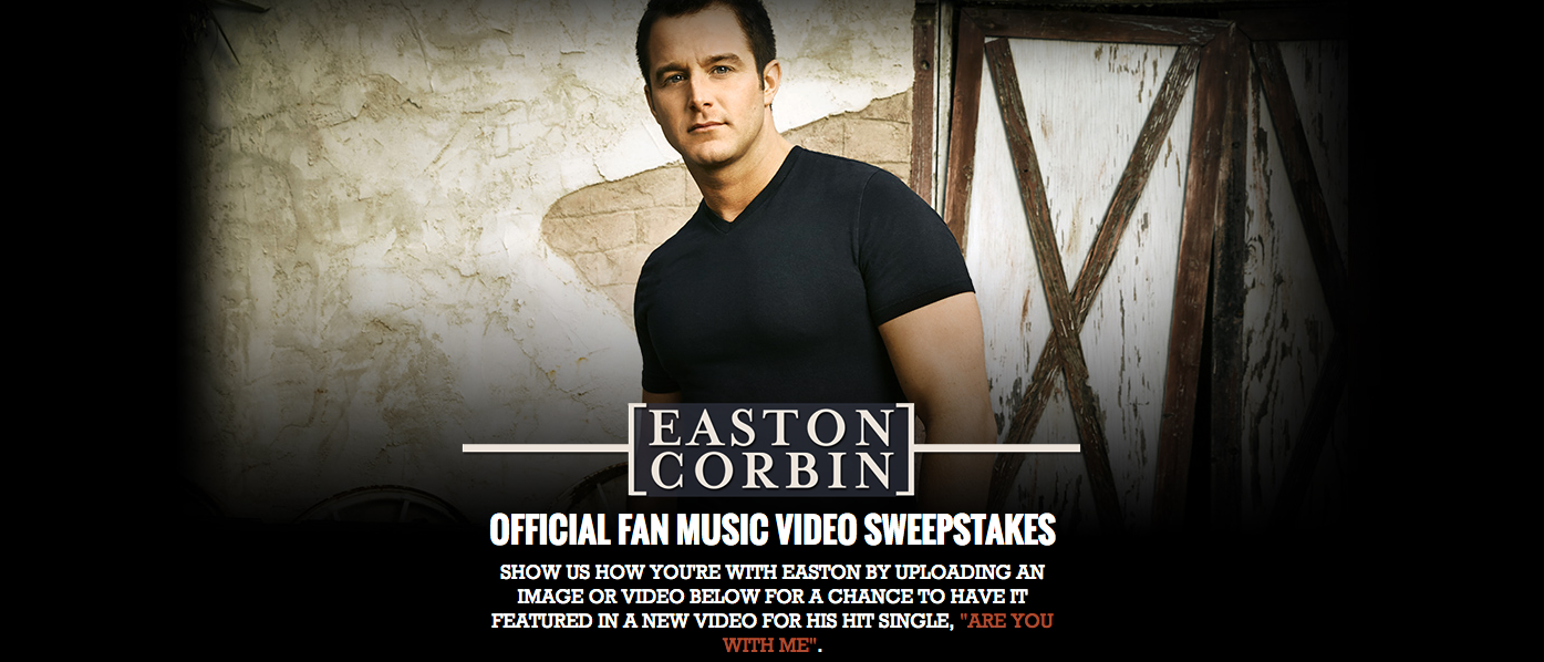 Official Fan Music Video Sweepstakes