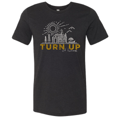 Easton Corbin Black Heather Turn Up Tee