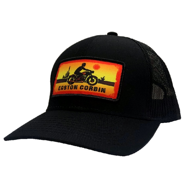 Easton Corbin Black Motorcyle Ballcap