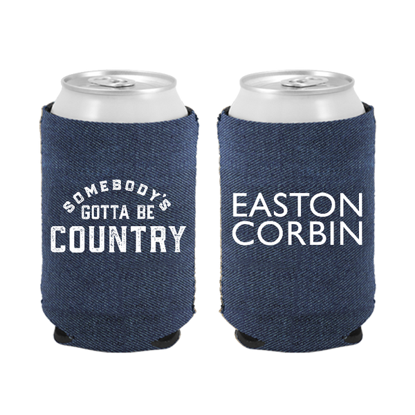 Easton Corbin Denim Can Coolie