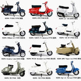 1Pc 1/18 Scale Kids toys Motorcylce Model 1969 VESPA 50 SPECIAL  Vehicles Model Diecast Moto for Collection