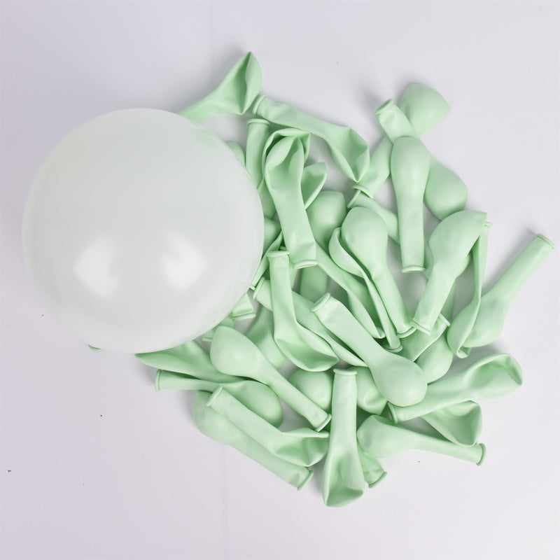 30pcs 5 Inch Macarons Color Pastel Candy Balloons Latex Round Helium Baloons For Birthday Party