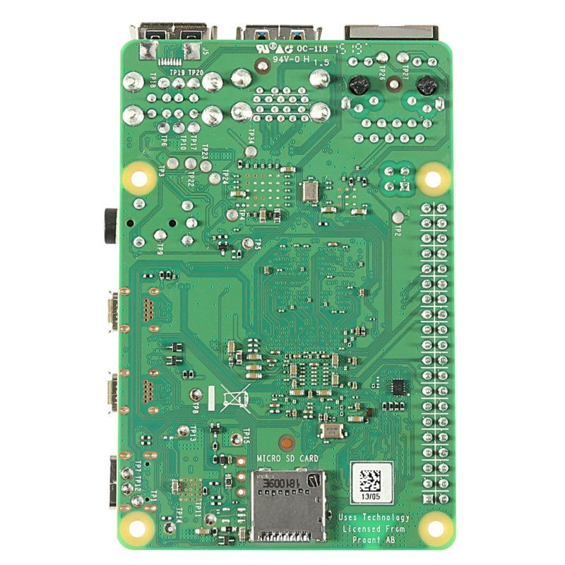 Latest Raspberry Pi 4 Model B with 1GB 2GB 4GB RAM BCM2711 Quad core Cortex-A72 ARM V8 1.5GHz Support 2.4/5.0 GHz WIFI Bluetooth 5.0