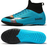 2019 Men/Kids Breathable And Comfortable Football Boots Indoor Soccer Shoes Youth Football Shoes Fustal Shoes