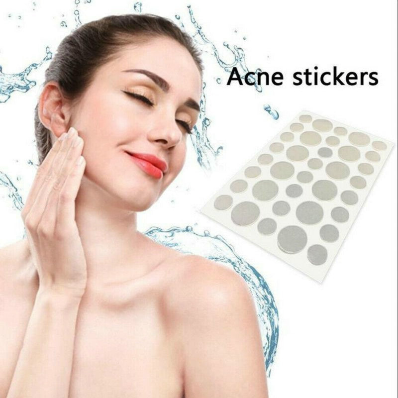 36Pcs Skin Tag & Acne Patch Hydrocolloid Acne and Skin Tag Remover Patches