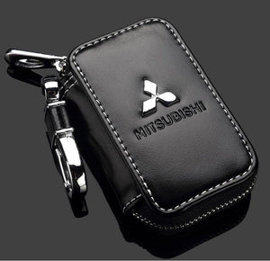 Car Key Bag Key Chain Wallet Bag Cover for Toyota Nissan Mazda Hyundai Kia Mitsubishi Suzuki Skoda Volvo and All Other Cars