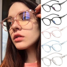 Load image into Gallery viewer, Women Spectacle Optical Frame Glasses Clear Lens Lady Vintage Computer Anti-Radiation Eyeglasses