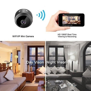 Newest 2019 Mini WiFi Camera Night Vision HD 1080P Magnetic Adsorption With Gift Camera Holder