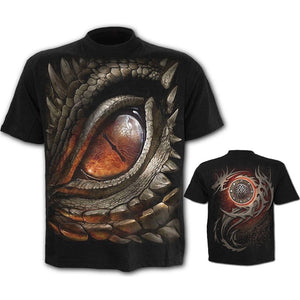Cool Funny Shirt SKull Dragon Graphic 3D Printed T-Shirts for Men Women Casual Short Sleeve Tees