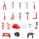 30 Pcs/Set Children Kids Drill Tool Set Builders Building Construction Play Toy Kits