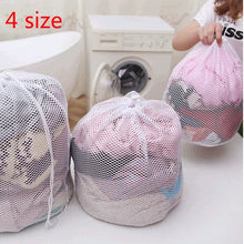 Load image into Gallery viewer, Laundry Mesh Bags Saver Cleaning Tools U2 Net Household Drawstring