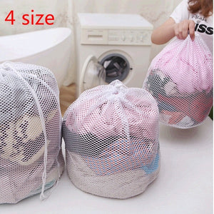 Laundry Mesh Bags Saver Cleaning Tools U2 Net Household Drawstring