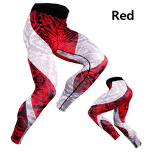 Load image into Gallery viewer, Men's Sport Running Pants Tights Compression Pants Fitness Leggings 3D Print Tights Workout Quick Dry Breathable Long Pants ( 3 Colors)