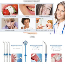 Load image into Gallery viewer, New upgrade 800ml dental oral irrigator water floss oral irrigator home oral irrigator 5 kinds of rinsing nozzle