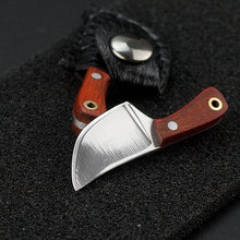 Load image into Gallery viewer, 2019 Hot Sale Mini Knife Neck Knife Pendant,Lanyard and Sheath, Perfect for Fishing, Hunting or Anything Outdoors