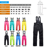 New Men and Women Outdoor Sports Sling Waterproof Windproof Camping Hiking Fishing Skiing Hiking Colorful Winter Ski Pants Hiking Pants