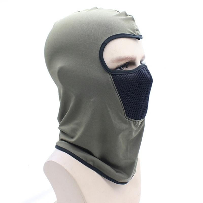 Windproof Hat Neck Helmet Beanies For Men Women Sports Bicycle Hat Face Mask