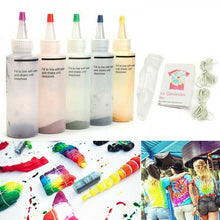 Load image into Gallery viewer, 5/18Pcs 120ml New One Step Tie Dye Kit Fabric Textile Permanent Paint Color