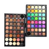 40 Colors Matte Luminous Eyeshadow Palette Cosmetic Makeup Eye Shadow Colorful