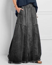 Load image into Gallery viewer, 2020 Women Ladies Fashion Casual Long Jean Skirt Demin Skirt