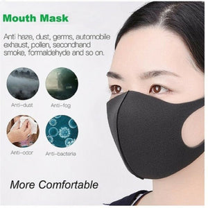 2~10Pcs Washable Reusable Elastic sponge Earloop Mask Anti Dust Mouth Face Mask Surgical Respirator