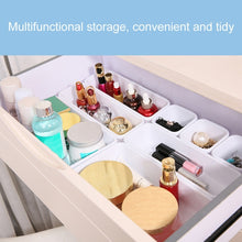 Load image into Gallery viewer, 8pcs/Set Household Drawer Organizer Box Trays Storage Box Office Kitchen Bathroom Closet Jewelry Makeup Desk Storage Box Organization