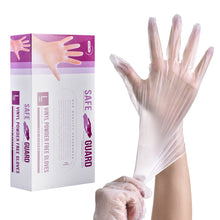 Load image into Gallery viewer, SAFEYEAR Disposable Vinyl Gloves 100pcs Anti-virus Power-free Latex-free [<safetoe_ppe>]