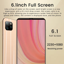 Load image into Gallery viewer, NEW i11 Pro 4G Smartphone 6.1 Inch Full Screen 8GB RAM+128GB ROM Large Memory Face Unlock Android 9.1 Octa Core Cellphone Dual SIM Cards Support T Card Smart Phones