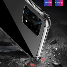 Load image into Gallery viewer, For Huawei P40 P40 PRO P40 Lite Samsung Galaxy A51 A71 Case, Ultra-Thin Transparent  Silicone Case For Huawei P30 P30 PRO P30 Lite Samsung Galaxy S20 S20 Plus S20 Ultra Xiaomi Mi 10 Mi 10 PRO iPhone 11 11 PRO 11 PRO MAX etc.