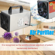 Load image into Gallery viewer, 20g/h Timing Switch Ozonizer Air Purifier Ozone Generator Disinfection Machine EU Plug 250V