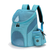 Load image into Gallery viewer, Pet Bag Out Carrying Bag Cat Dog Backpack Folding Pet Chest Pet Supplies Dog Cat Carrier Small Fashion