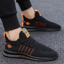 Load image into Gallery viewer, Men's Breathable Knit Casual Shoes Sports Running Shoes Anti-slip Sneakers Tennis Walking Trainers for Men
