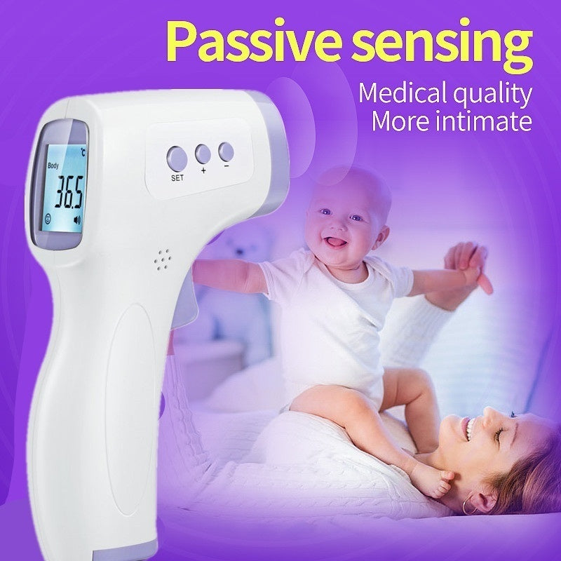 Infrared Thermameter Non-contact Measurement Body Temperature Gun LCD Backlight Digital Forehead Thermometer Electronic