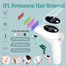 Load image into Gallery viewer, Laser Epilator 900000 Flashes Permanent IPL  Hair Removal depiladora Painless electric Epilator