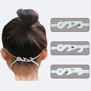 Adjustable Fixing Buckle Face Mask Ear Strap Extension Ear Hook